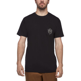 Black Diamond Rays Pocket T-Shirt Herren black